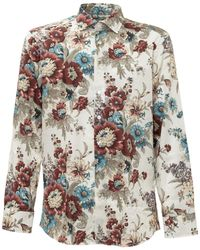 Etro All-over Floral Print Shirt - Multicolour