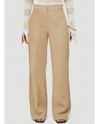 Max Mara - High-waisted Tailored Pants - Lyst