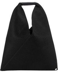 MM6 by Maison Martin Margiela Japanese Net Mesh Tote Bag - Black