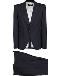DSquared² Single Breasted Two-piece Suit - Black
