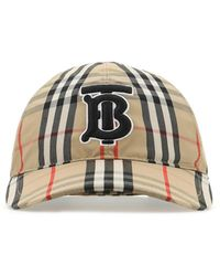 Burberry Check Baseball Cap - Multicolour