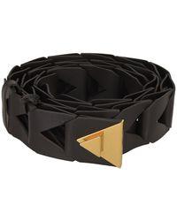 Bottega Veneta Intreccio Belt - Black