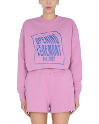 Opening Ceremony Ywba007s21fle0013047 Other Materials Sweatshirt - Pink