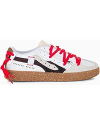 PUMA Oslo City Re-gen Low-top Trainers - Red