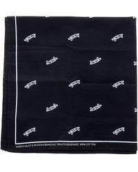 Vans Vault X Wtaps Logo Printed Bandana - Black