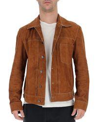 DESA NINETEENSEVENTYTWO Button-up Jacket - Brown