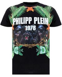 Philipp Plein - Graphic-print T-shirt - Lyst