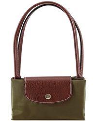 15d6b9836ad5c Longchamp Le Pliage Small Tote Bag in Purple - Lyst