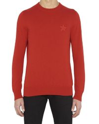 Givenchy - Star Patch Knit Sweater - Lyst
