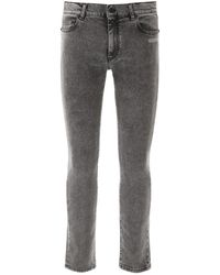 Off-White c/o Virgil Abloh Skinny Jeans - Grey