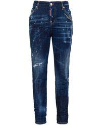 DSquared² Stretch Jeans Effect Delave - Blue