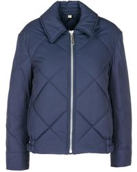 Burberry - Technical Quilted Jacket - Lyst