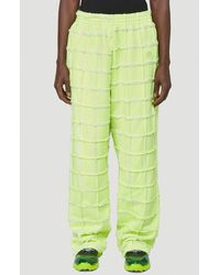 Martine Rose Panelled Track Trousers - Green
