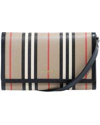 Burberry Icon Stripe Crossbody Bag - Multicolor
