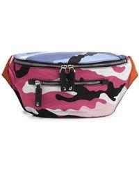 Valentino Camouflage Belt Bag - Multicolour