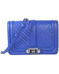 Rebecca Minkoff Small Love Shoulder Bag - Blue