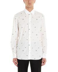 Prada Printed Shirt - White