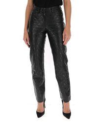 Marine Serre Moon Printed Trousers - Black