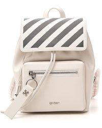 Off-White c/o Virgil Abloh Diag Stripes Backpack - Natural