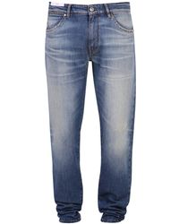 PT01 Faded Slim Fit Jeans - Blue
