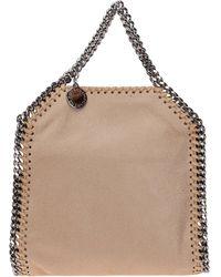 Stella McCartney Women's Handbag Tote Shopping Bag Purse Falabella Tiny - Natural