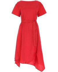Weekend by Maxmara Palazzi Dress - Red