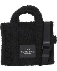 Marc Jacobs The Teddy Small Traveller Tote Bag - Black