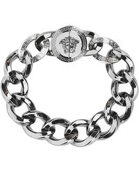 Versace Metal Medusa Bracelet Uomo L - Metallic