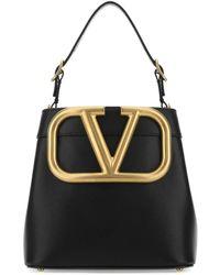 Valentino Supervee Top Handle Bag - Black