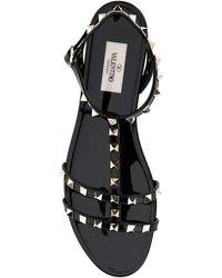 Valentino Valentino Garavani Garavani Rockstud Strapped Sandals - Black