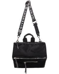 Givenchy Nylon Shoulder Bag - Black