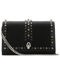 Alexander McQueen Skull Small Shoulder Bag - Black
