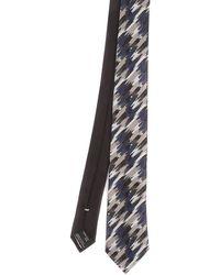 Missoni Silk Tie - Grey