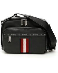 Bally Hobs Crossbody Bag - Black