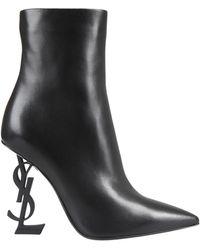 Saint Laurent Opyum Ankle Boots - Black