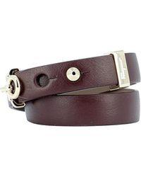 Ferragamo - Logo Double Wrap Bracelet - Lyst