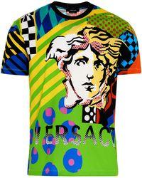 Versace American Dream Graphic Print T-shirt - Multicolour