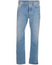 Balenciaga Flatground Slim-fit Jeans - Blue