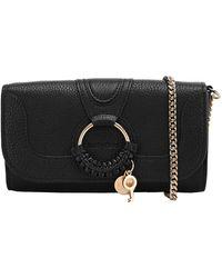 See By Chloé Hana Chain Wallet - Black