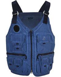 Nike Acg Watchman Peak Vest - Blue