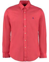 Polo Ralph Lauren Red Cotton Shirt