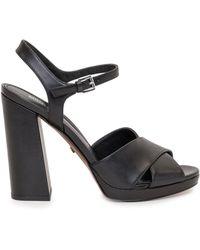 MICHAEL Michael Kors Ankle-strap Platform Sandals - Black