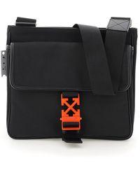 Off-White c/o Virgil Abloh Arrows Nylon Crossbody Bag - Black