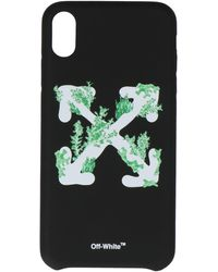 Off-White c/o Virgil Abloh Arrows Logo Iphone Xs Case - Black