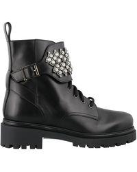 Rene Caovilla René Caovilla Kara Lace-up Boots - Black