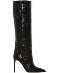 Paris Texas - Embossed Knee-high Boots - Lyst