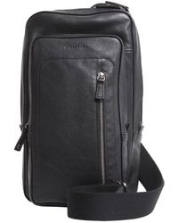 f4cf073c72b7 Lyst - Longchamp Parisis Leather Backpack in Black for Men