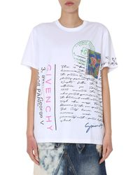 Givenchy - Printed T-shirt - Lyst
