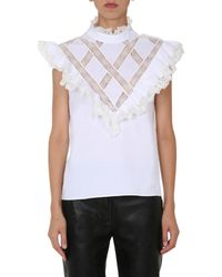 Philosophy Di Lorenzo Serafini Ruffles Detailed Blouse - White