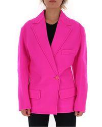 Jacquemus Sabe Oversize Blazer - Pink